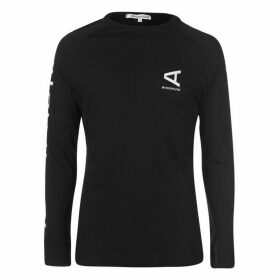 Arcminute Altare Long Sleeve T Shirt - Black