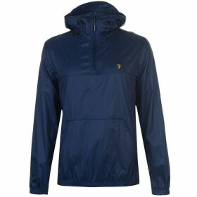 Farah Sport Linwood Pull Over Windbreaker - Blue