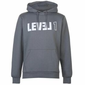 Level 1 Oxon Hoody Mens - Sharkskin