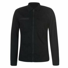 Jack and Jones Core Drake Long Sleeve Shirt - Black