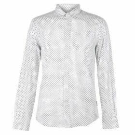 Soviet Print Shirt - White