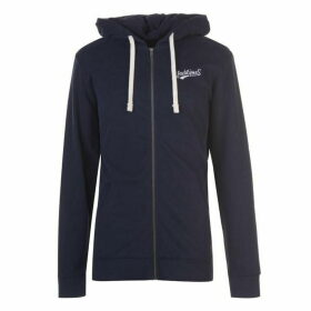 Jack and Jones Originals Mills Zip Hoodie - Navy
