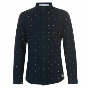 SoulCal Deluxe AOP Oxford Shirt - Navy