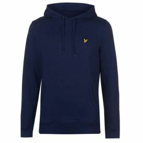 Lyle and Scott Lyle OTH Basic Logo Hoodie - Blue