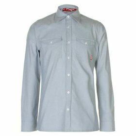 Zukie Chambrey Shirt Mens - Blue