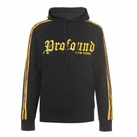 Profound Aesthetic Old Timer Hoodie - Black/Yellow