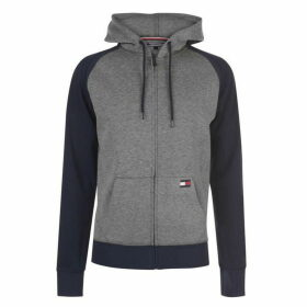 Tommy Bodywear Long Sleeve Hoodie - Grey Heather