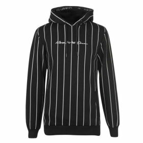 Kings Will Dream Clifton Pin Stripe Hoodie - Black/White