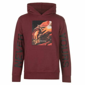 Profound Aesthetic Never Yours Hoodie - Burgundy
