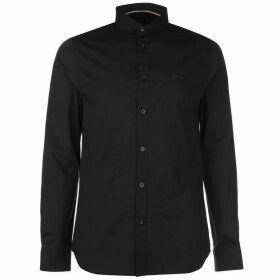 883 Police Capital Long Sleeve Shirt - Black