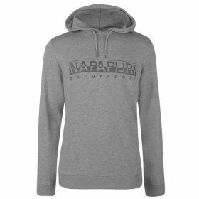 Napapijri Bevora OTH Logo Hoodie - Grey Marl