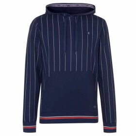 Jack and Jones Jack Original Pinstripe Hoodie Mens - Total Eclipse