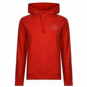 HUGO Atom Hooded Sweatshirt - Red