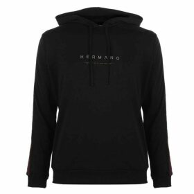 Hermano Taped Hoodie - Black/Red/Wht