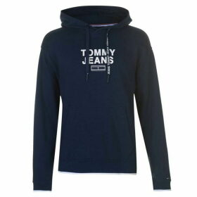 Tommy Jeans Graphic Print Hoodie - Navy