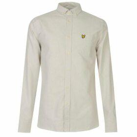 Lyle and Scott Lyle Striped Flannel Shirt Mens - Z468 CLOUD BLUE