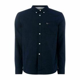 Jack Wills Jack Wills Wadsworth Oxford Shirt - Navy