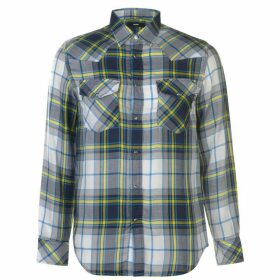 Diesel Diesel Western Check Shirt Mens - 8AT Peacoat