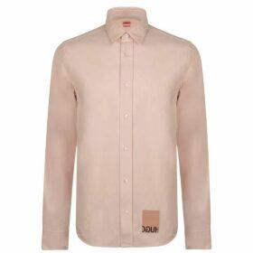 Hugo Hugo Emorino Tab Shirt - 690 Open Pink