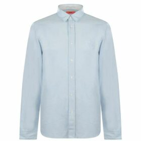 Hugo Hugo Emorino Smile Shirt Mens - 482 Open Blue