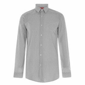 Hugo Hugo Boss Elisha Emoji Shirt Mens - 199 Opn White