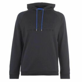BOSS BODYWEAR Heritage Over The Top Hoodie - Blue