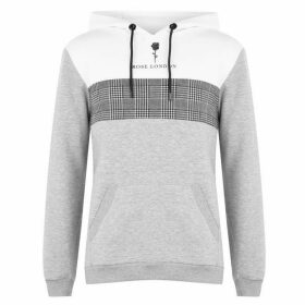 Rose London Block OTH Hoodie - Grey Marl