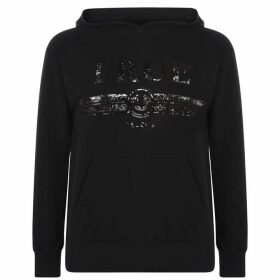 TRUE RELIGION Sequin True Oth Hoodie - Black