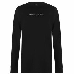 Diesel Copyright 2019 Long Sleeve T Shirt - Black 900