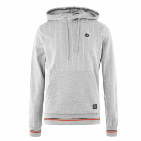 Jack and Jones Jack Original Pinstripe Hoodie Mens - Grey marl