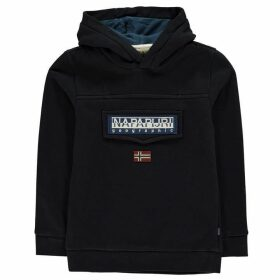 Napapijri Hooded Sweatshirt - Blue Marine