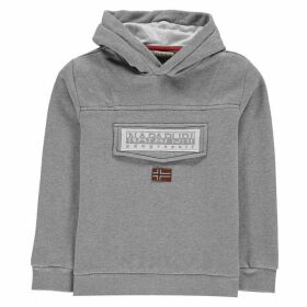 Napapijri Hooded Sweatshirt - Med Grey Mel