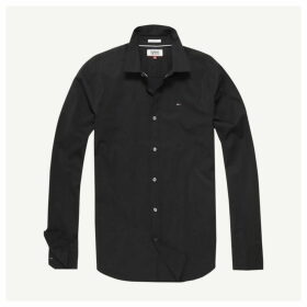 Tommy Jeans Original Stretch Shirt - Black