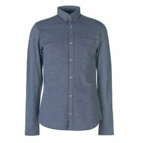 Jack and Jones Core Alex Long Sleeve Shirt - Grey