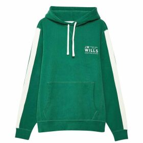 Jack Wills Lochbury Graphic Hoodie - Green