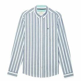 Jack Wills Simmons Stripe Shirt - Navy