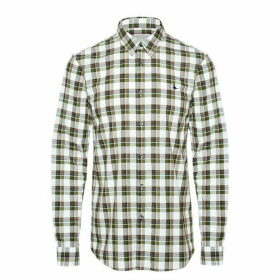 Jack Wills Salcombe Check Shirt - White/Green