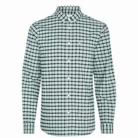 Jack Wills Wadsworth Oxford Check Shirt - Emerald