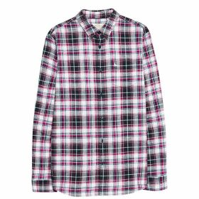 Jack Wills Harefield Check Shirt - Navy/Red