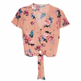 Jack Wills Hope Romantic Blouse - Nude