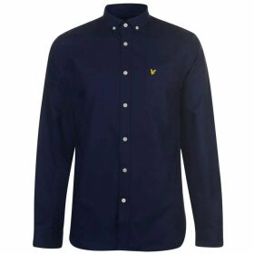Lyle and Scott Oxford Shirt - Navy