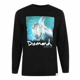 Diamond Supply Co. Shimmer Long Sleeve T-Shirt - Black