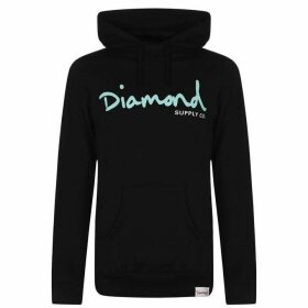 Diamond Supply Co. Script OTH Hoodie - Black