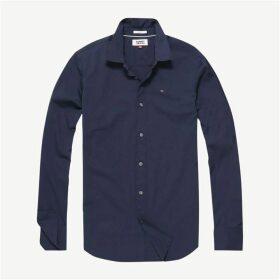 Tommy Jeans Original Stretch Shirt - Navy
