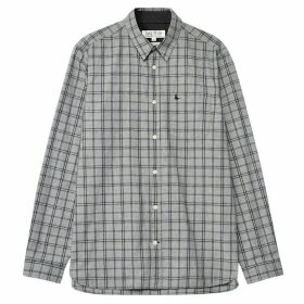 Jack Wills Abervale Check Shirt - Grey