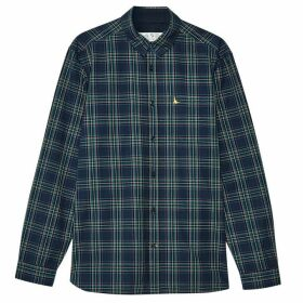 Jack Wills Abervale Check Shirt - Navy