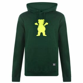Grizzly Fleece Hoodie Mens - OG Bear