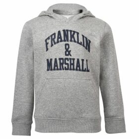 Franklin and Marshall OTH Hoodie - Grey