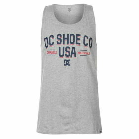 DC Campus Tank Top Mens - Grey Heather