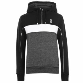 SoulCal Cut and Sew OTH Hoodie Mens - Black/Charcoal